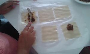 Taller de cuina canelons 3